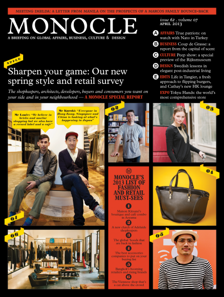Monocle Magazine April 2013