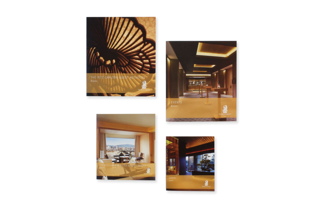 The Ritz-Carlton, Kyoto Marketing and Sales Collateral