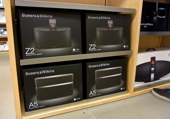 A7 and A5 in store